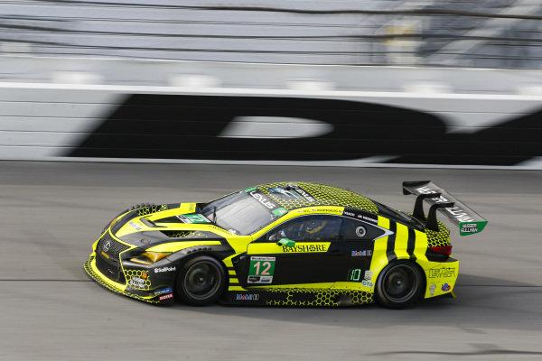 #12: Vasser Sullivan Lexus RC F GT3, GTD: Frankie Montecalvo, Robert Megennis, Townsend Bell, Zach Veach