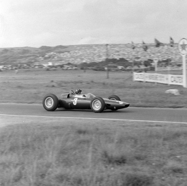 Graham Hill, BRM P57.