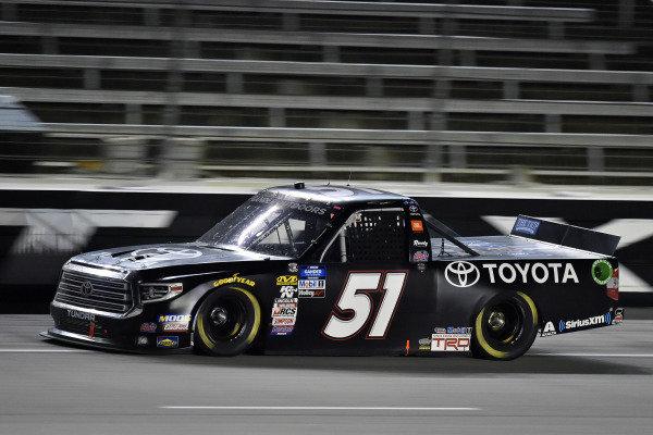 #51: Greg Biffle, Kyle Busch Motorsports, Toyota Tundra Toyota