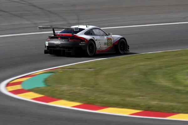 #92 Porsche GT Team Porsche 911 RSR: Michael Christensen, Kevin Estre.