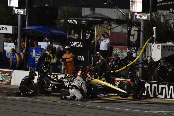 James Hinchcliffe, Arrow Schmidt Peterson Motorsports Honda pit stop