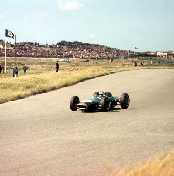 Zandvoort, Holland.21-23 May 1963.Jack Brabham (Brabham BT7 Climax).Ref-3/0970.World Copyright - LAT Photographic