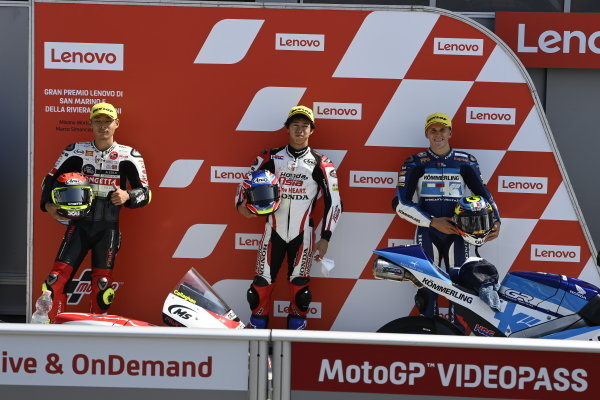 Tatsuki Suzuki, SIC58 Squadra Corse, Ai Ogura, Honda Team Asia, Gabriel Rodrigo, Gresini Racing.