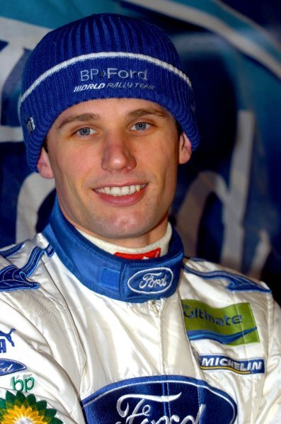 Roman Kresta (CZE) Ford.World Rally Championship, Rd2, Swedish Rally, Shakedown, Karlstad, Sweden, 10 February 2005.DIGITAL IMAGE