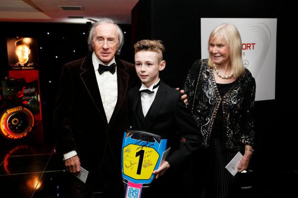 2015 Autosport Awards. Grosvenor House Hotel, Park Lane, London. Sunday 6 December 2015. Sir Jackie Stewart. World Copyright: Adam Warner/LAT Photographic. ref: Digital Image _L5R8972
