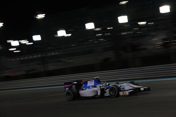 2013 GP2 Series Test 3 Yas Marina Circuit, Abu Dhabi, UAE. Day 3, Thursday 7th November 2013. Jordan King (GBR, Barwa Addax Team)  World Copyright: Sam Bloxham/LAT Photographic. ref: Digital Image IMG_5944