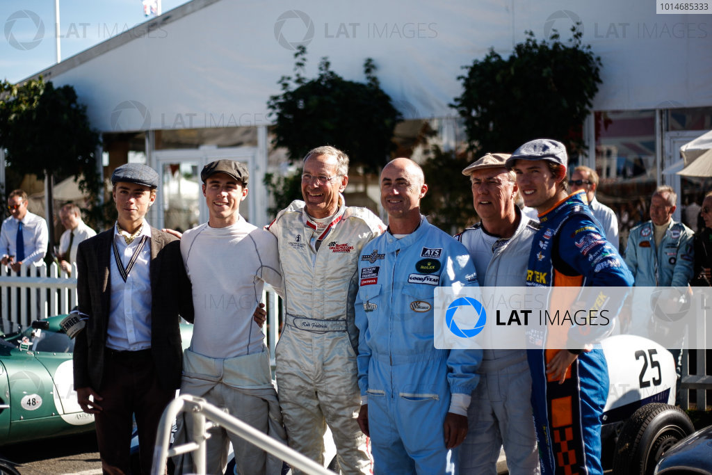 2016 Goodwood Revival Meeting. Goodwood Estate, West Sussex, England.  9th - 11th September 2016 David Brabham in assembly paddock. World Copyright: Will Elliott / LAT Photographic.  Reference: _DG27911