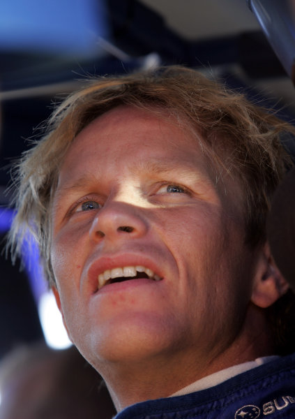 2005 FIA World Rally Champs. Round eightAcropolis Rally 23rd - 26th June 2005 Petter Solberg, Subaru, portrait World Copyright: McKlein/LAT