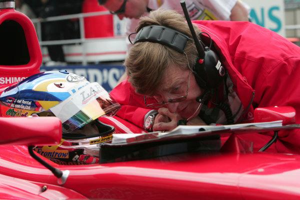 2005 GP2 Series - Great BritainSilverstone , England8th - 10th July 2005Friday QualifyingHiro Yoshimoto (J, BCN Competicion). Portrait. World Copyright: GP2 Series Media Service ref: Digital Image Only