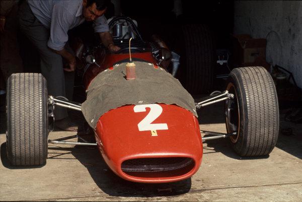 Monza, Italy. 8-10 September 1967. Chris Amon's Ferrari 312. Ref: 67 ITA 04 World Copyright - LAT Photographic