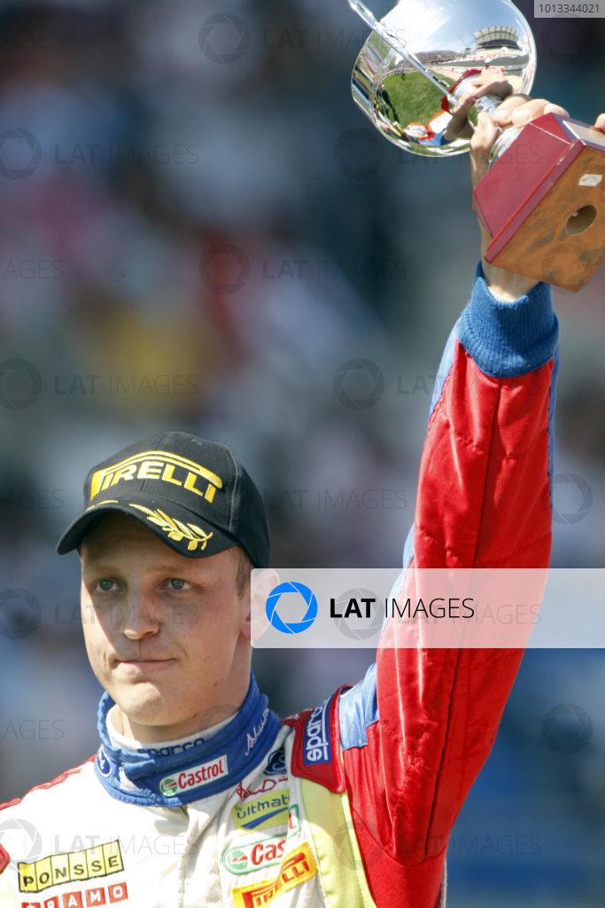Round 04Rally Portugal 2- 5 of April 2009Mikko Hirvonen, Ford WRC, PodiumWorldwide Copyright: McKlein/LAT