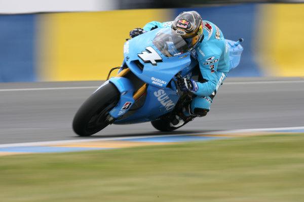 Le Mans, France. 16th - 17th May 2009.Chris Vermeulen Rizla Suzuki.World Copyright: Martin Heath/LAT Photographicref: BPI_Moto 89aj