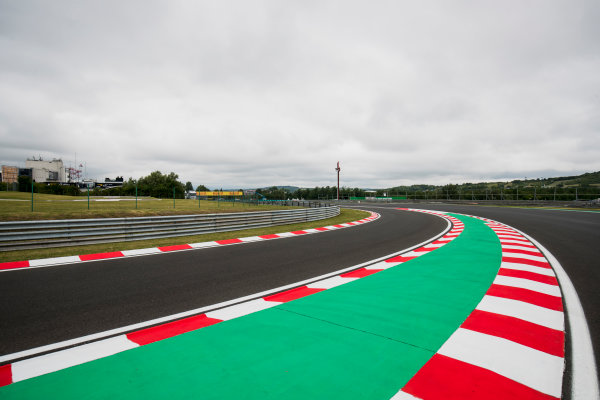 2017 FIA Formula 2 Round 7. Hungaroring, Budapest, Hungary. Thursday 27 July 2017. A view of the track. Photo: Zak Mauger/FIA Formula 2. ref: Digital Image _56I0023