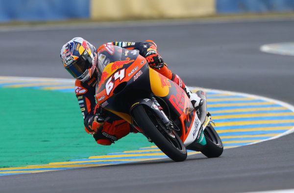 2017 Moto3 Championship - Round 5 Le Mans, France Saturday 20 May 2017 Bo Bendsneyder, Red Bull KTM Ajo World Copyright: Gold & Goose Photography/LAT Images ref: Digital Image 671088