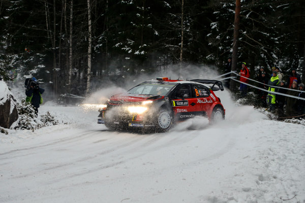 2017 FIA World Rally Championship, Round 02, Rally Sweden, February 09-12, 2017, Craig Breen, Citroen, Action Worldwide Copyright: McKlein/LAT