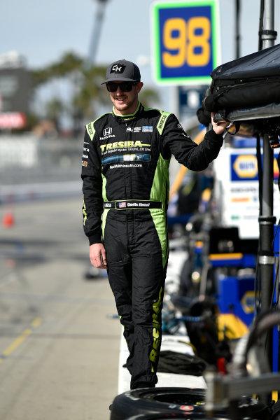 2017 Verizon IndyCar Series Toyota Grand Prix of Long Beach Streets of Long Beach, CA USA Friday 7 April 2017 Charlie Kimball World Copyright: Scott R LePage/LAT Images ref: Digital Image lepage-170407-LB-0650