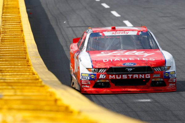 NASCAR Xfinity Series Hisense 4K TV 300 Charlotte Motor Speedway, Concord, NC USA Thursday 25 May 2017 Ryan Reed, Lilly Diabetes Ford Mustang World Copyright: Lesley Ann Miller LAT Images