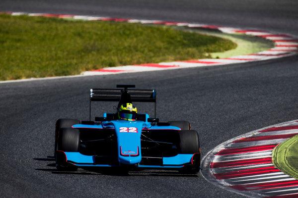 2016 GP3 Series Test 2. Circuit de Catalunya, Barcelona, Spain. Thursday 20 April 2017. Alessio Lorandi (ITA, Jenzer Motorsport)  Photo: Zak Mauger/GP3 Series Media Service. ref: Digital Image _56I5408