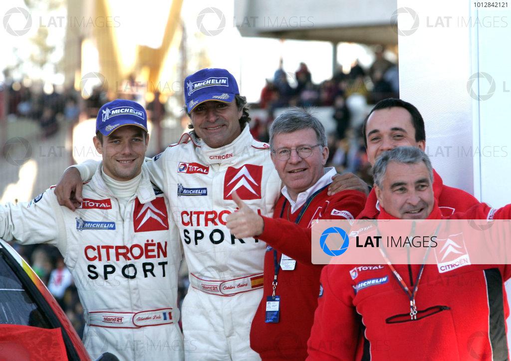 2004 FIA World Rally Championship, Round 8