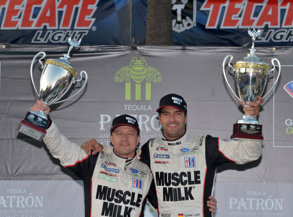 19-20 April, 2013, Long Beach, California.#6 Muscle Milk Picket Racing P1 and overall winners ©2013 Dan R. Boyd LAT Photo USA