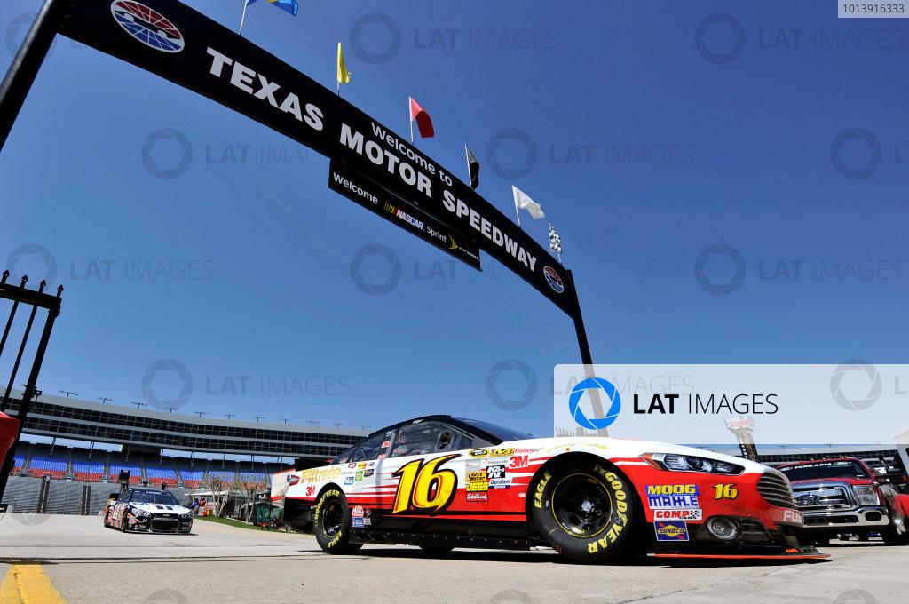 11-13 April, 2013, Fort Worth, Texas USA Greg Biffle ©2013, Nigel Kinrade LAT Photo USA