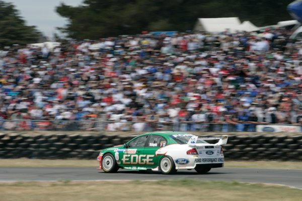 The Ford Performance Racing V8 Supercar of Steven Richards during the Falken Tasmania Challenge, Round 13 of the Australian V8 Supercar Championship Series at Symmons Plains Raceway, Launceston. Nov 16-18, 2007.