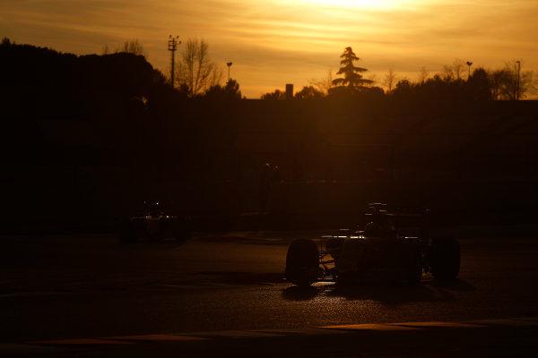 2015 F1 Pre Season Test 3 - Day 4 Circuit de Catalunya, Barcelona, Spain. Thursday  Sunday 1 March 2015. Daniel Ricciardo, Red Bull Racing RB11 Renault.  World Copyright: Sam Bloxham/LAT Photographic. ref: Digital Image _14P5539