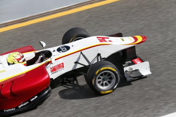 2014 GP3 Series Test 1. Estoril, Portugal.  Thursday 19 March 2015. Alex Palou (ESP, Campos Racing)  Photo: Sam Bloxham/GP3 Series Media Service. ref: Digital Image _SBL0676