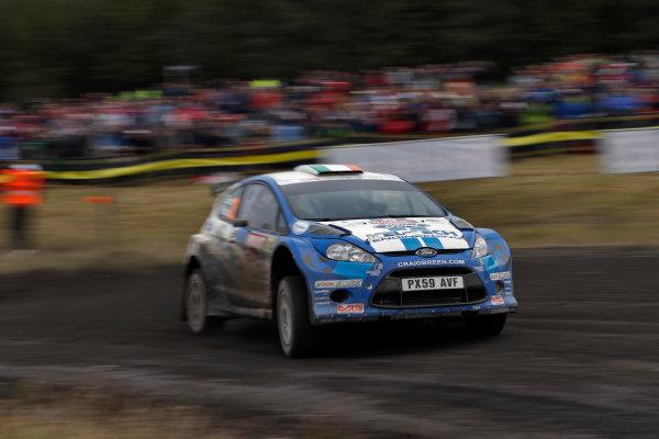 Round 10- Wales Rally GB 12-16/9- 2012.Craig Breen, Ford S2000, ActionWorldwide Copyright: McKlein/LAT