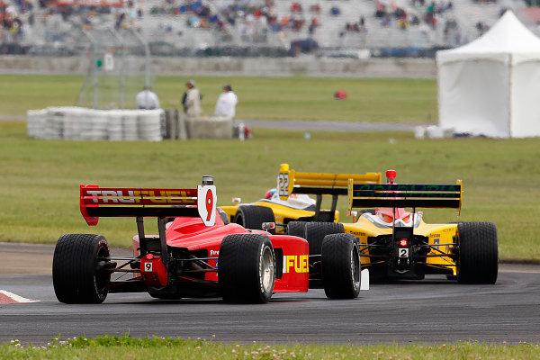 20-21, July, 2012, Edmonton, Alberta, CanadaPeter Dempsey follows cars in turn 5.(c) 2012, Perry NelsonLAT Photo USA