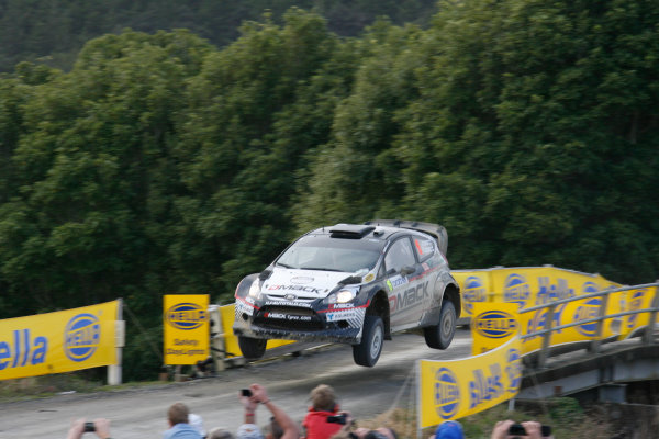 Round 7, Rally New Zealand, 21st-24th June 2012Jari Ketomaa, Ford, Action.