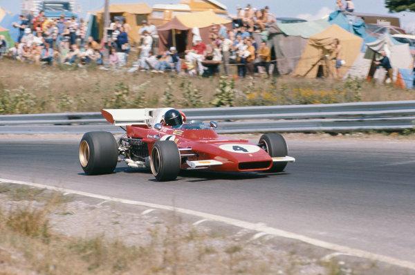 1971 Canadian Grand Prix.  Mosport, Canada. 17-19th September 1971.  Jacky Ickx, Ferrari 312B2.  Ref: 71CAN27. World Copyright: LAT Photographic