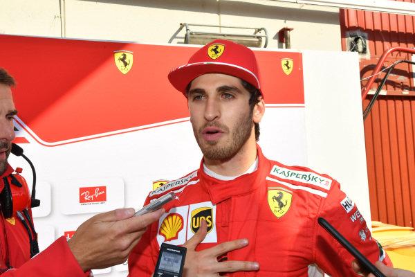 Antonio Giovinazzi (ITA) Ferrari