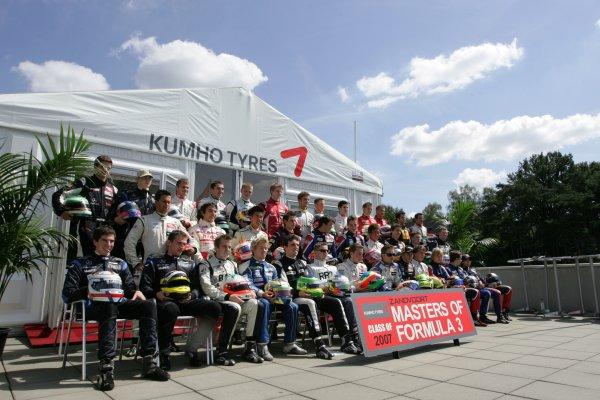 2007 Zandvoort Masters of Formula Three.Zolder, Belgium. 4th and 5th August 2007.The Formula 3 Masters Class of 2007World Copyright: Hoyer/Ebrey/LAT Photographic