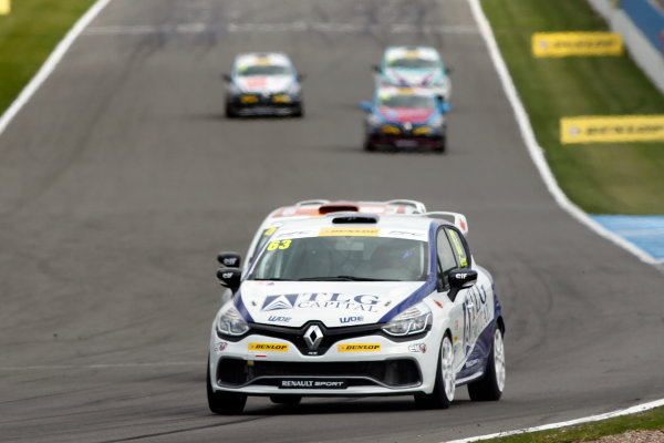 2015 Renault Clio Cup, Donington Park, 18th - 19th April 2015 Rory Green (GBR) WDE Motorsport Renault Clio Cup  World copyright. Jakob Ebrey/LAT Photographic