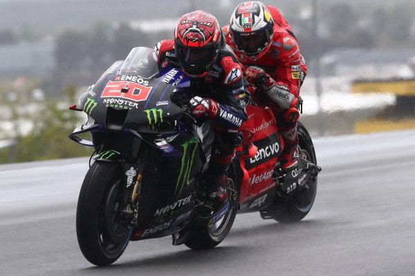 Fabio Quartararo, Yamaha Factory Racing Jack Miller, Ducati Team.