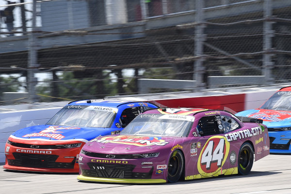 #44: Tommy Joe Martins, Martins Motorsports, Chevrolet Camaro Capital City Hauling, #90: B.J. McLeod, DGM Racing, Chevrolet Camaro BuckedUp Apparel