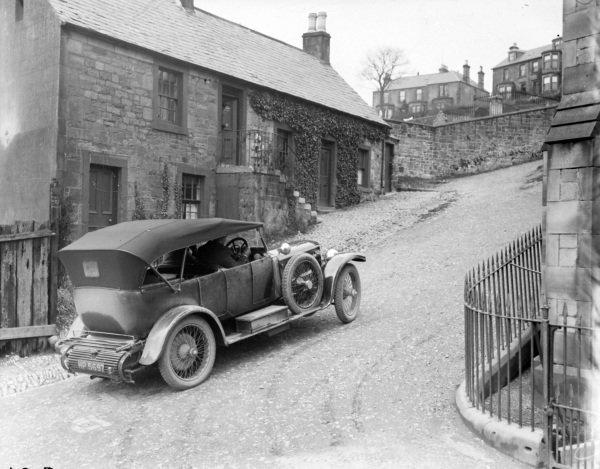 Daimler Scotland Test (BH Davis)