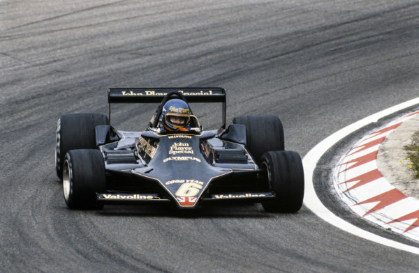 Ronnie Peterson, Lotus 79 Ford.