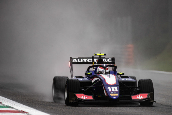 AUTODROMO NAZIONALE MONZA, ITALY - SEPTEMBER 06: Pedro Piquet (BRA, Trident) during the Monza at Autodromo Nazionale Monza on September 06, 2019 in Autodromo Nazionale Monza, Italy. (Photo by Joe Portlock / LAT Images / FIA F3 Championship)