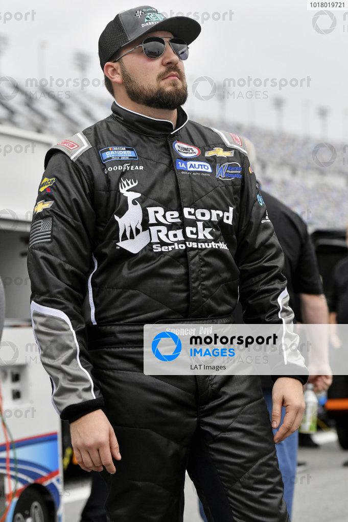 #20: Spencer Boyd, Young's Motorsports, Chevrolet Silverado CuraLife