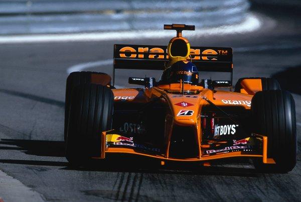 2002 Monaco Grand Prix.Monte Carlo, Monaco. 23-26 May 2002.Heinz-Harald Frentzen (Arrows A23 Cosworth) 6th position.Ref-02 MON 34.World Copyright - LAT Photographic