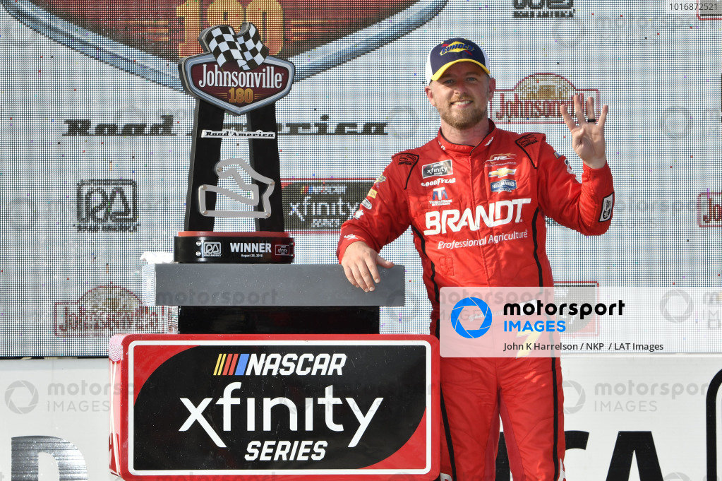 #7: Justin Allgaier, JR Motorsports, Chevrolet Camaro BRANDT Professional Agriculture, Sunoco