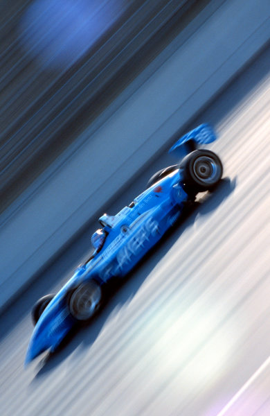 1999 Firestone Firehawk 500, Motegi, Japan, 10-4-99Greg Moore was set to challenge for the win until a tire failure on a restart forced him into a spin. After an amazing recovery, he finished the last two laps on the damaged tire.-1999, Michael L. Levitt, USA - 248-399-3371LAT Photographic