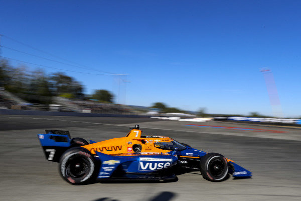 #7: Felix Rosenqvist, Arrow McLaren SP Chevrolet