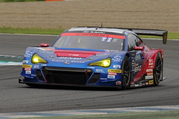 GT300 3rd position Takuto Iguchi & Hideki Yamauchi ( #61 SUBARU BRZ R&D SPORT ) action