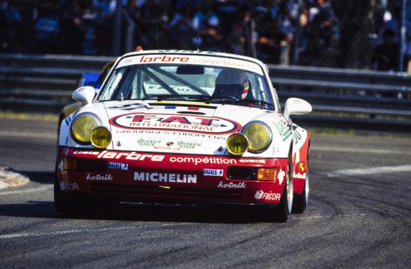 Jésus Pareja / Dominique Dupuy / Carlos Palau, Larbre Compétition, Porsche 911 Carrera RSR.