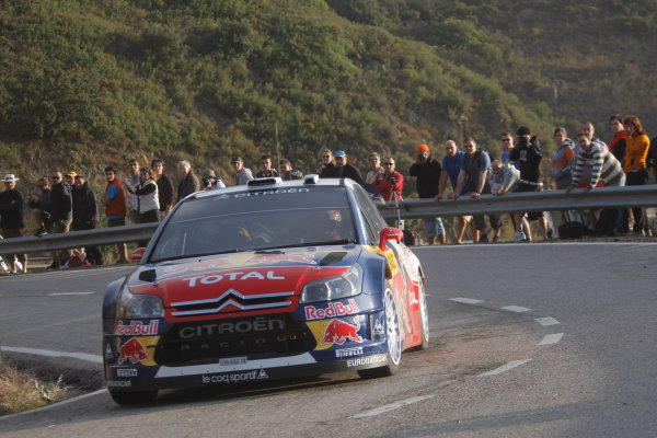 Round 11Rally Catalunya 01-04 October 2009Sebastien Loeb, WRC, Citroen, ActionWorldwide Copyright: McKlein/LAT