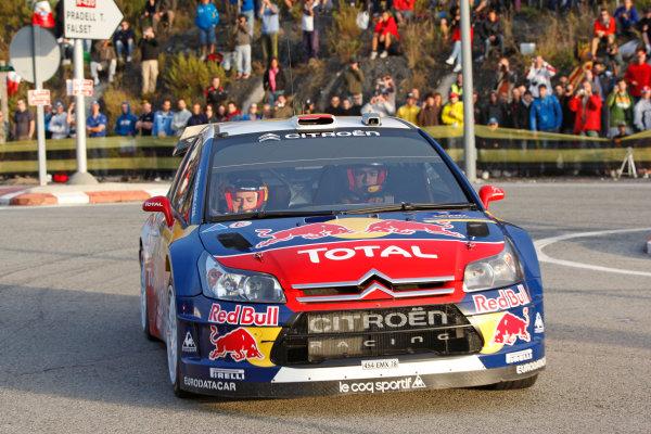 Round 11Rally Catalunya 01-04 October 2009Dani Sordo, WRC, Citroen, ActionWorldwide Copyright: McKlein/LAT