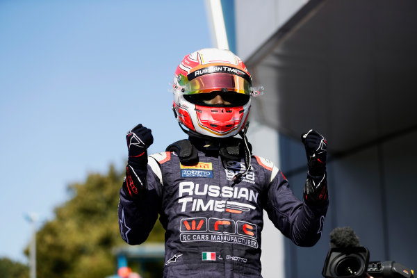 Autodromo Nazionale di Monza, Italy. Sunday 3 September 2017 Luca Ghiotto (ITA, RUSSIAN TIME).  Photo: Mauger/FIA Formula 2 ref: Digital Image _56I9146